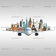 tourist plane
